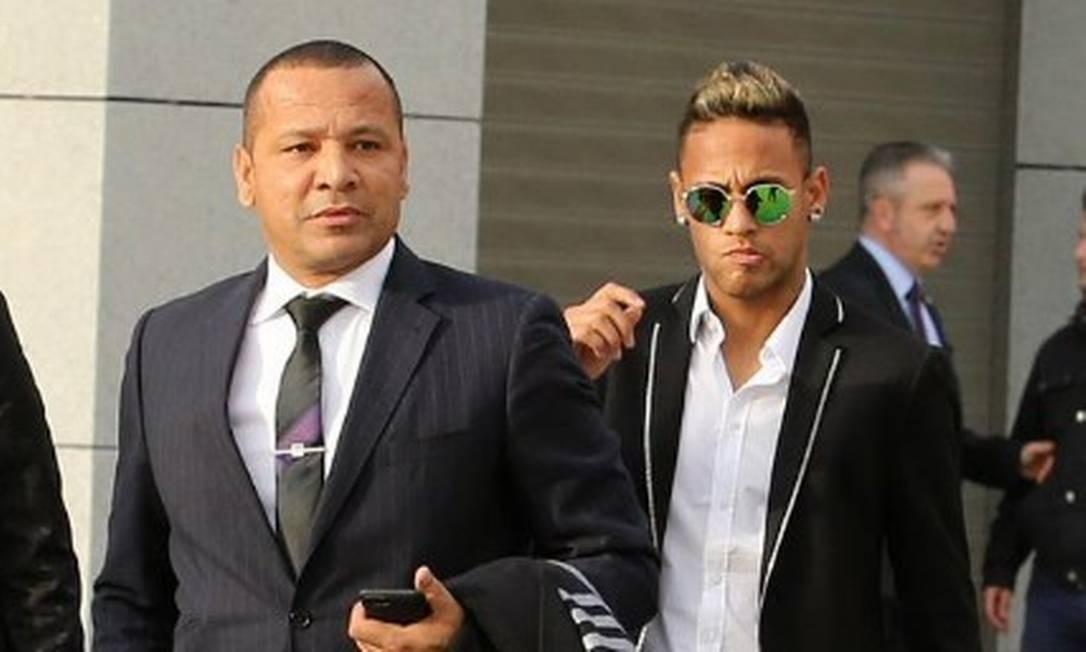 Pai de Neymar terá reunião com a Juventus, diz jornal espanhol Foto: Reprodução