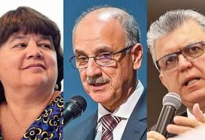 Lista tríplice: candidatos a procurador-geral da República Foto: Agência O Globo
