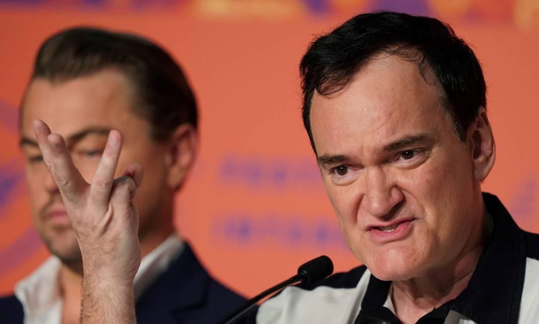O novo filme de Tarantino, 'Era uma vez em Hollywood' estreia em agosto no Brasil Foto: SEBASTIEN BERDA / AFP