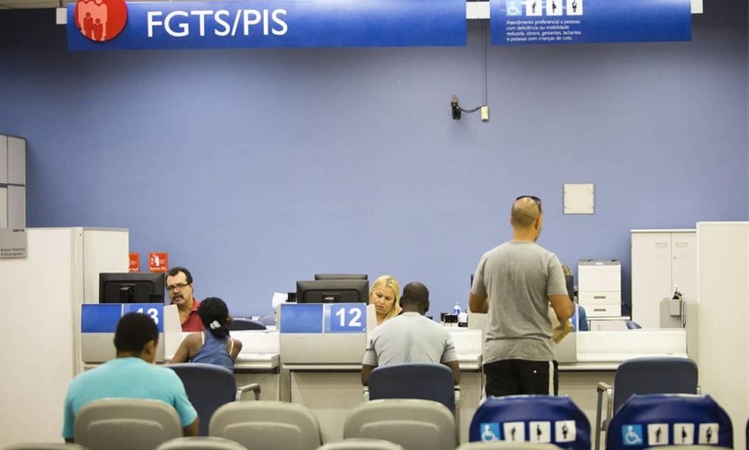 Goveno estuda permitir saque de um percentual escalonado Foto: Divulgação-Caixa Econômica