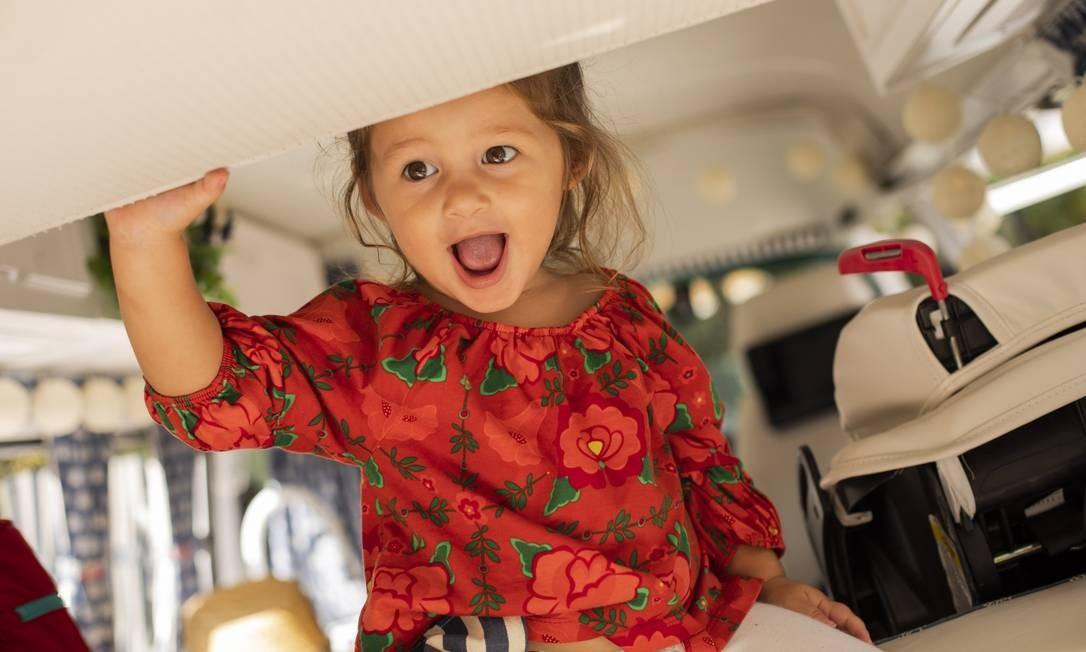 Mais da pequena Madalena Foto: GABRIEL MONTEIRO / Agência O Globo