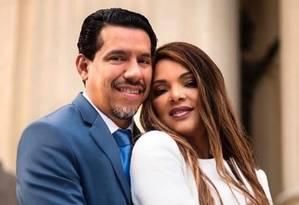 O pastor Anderson e a deputada Foto: Divulgação