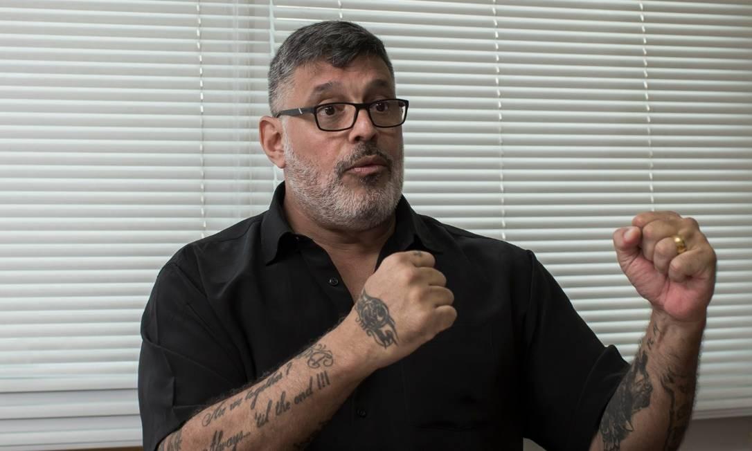O deputado federal Alexandre Frota, do PSL de São Paulo Foto: Edilson Dantas/Agência O Globo