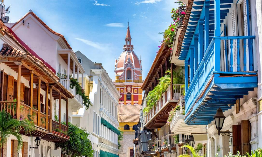 Cidade velha de Cartagena das Índias Foto: Charly Boillot