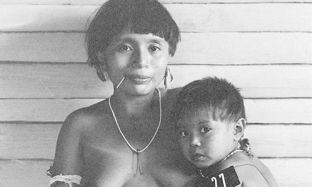 """A exposição """"Claudia Andujar — A luta Yanomami"""" fica em cartaz até 10 de novembro no IMS Foto: Claudia Andujar / Divulgação"""