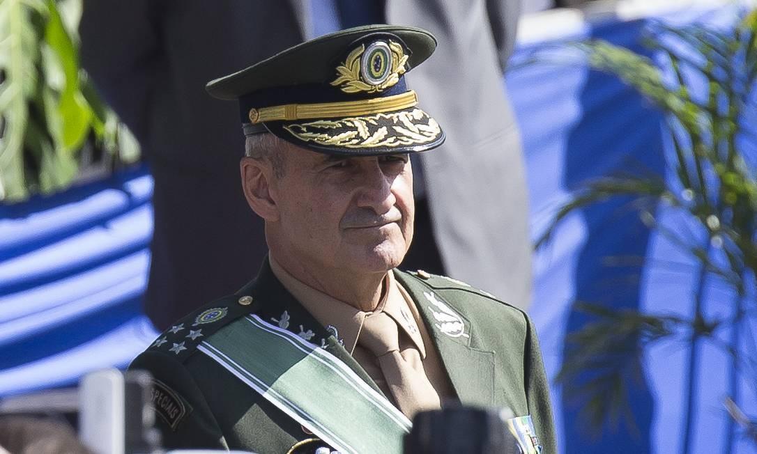 O general Luiz Eduardo Ramos, ministro da Secretaria de Governo Foto: Edilson Dantas / Agência O Globo