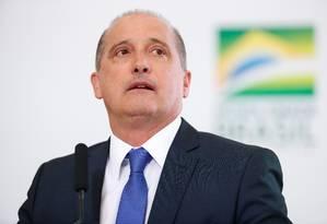 O ministro disse que é possível que aconteça uma mudança no futuro Foto: Alan Santos/PR
