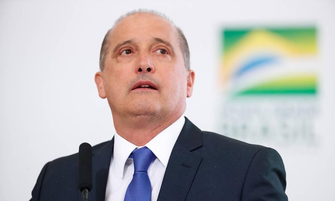 O ministro disse que a indicação de Eduardo para a embaixada é um 'gol de placa' Foto: Alan Santos/PR