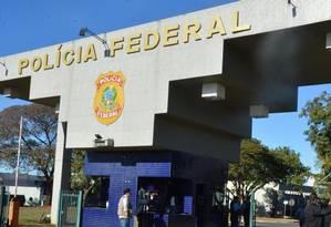 Sede da Polícia Federal em Brasília (DF) Foto: José Cruz / Agência Brasil