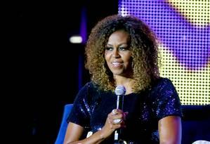 Michelle Obama, em julho de 2019 Foto: Bennett Raglin / Getty Images for ESSENCE