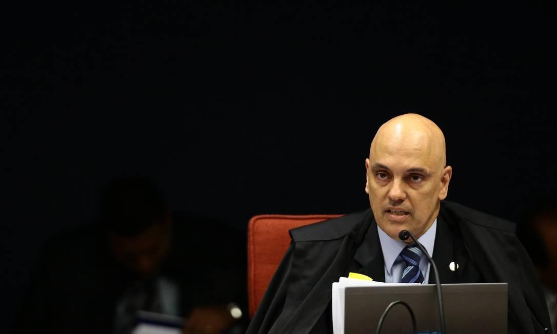O ministro determinou o envio de mensagens hackeadas ao STF na sexta-feira passada Foto: Jorge William / Agência O Globo