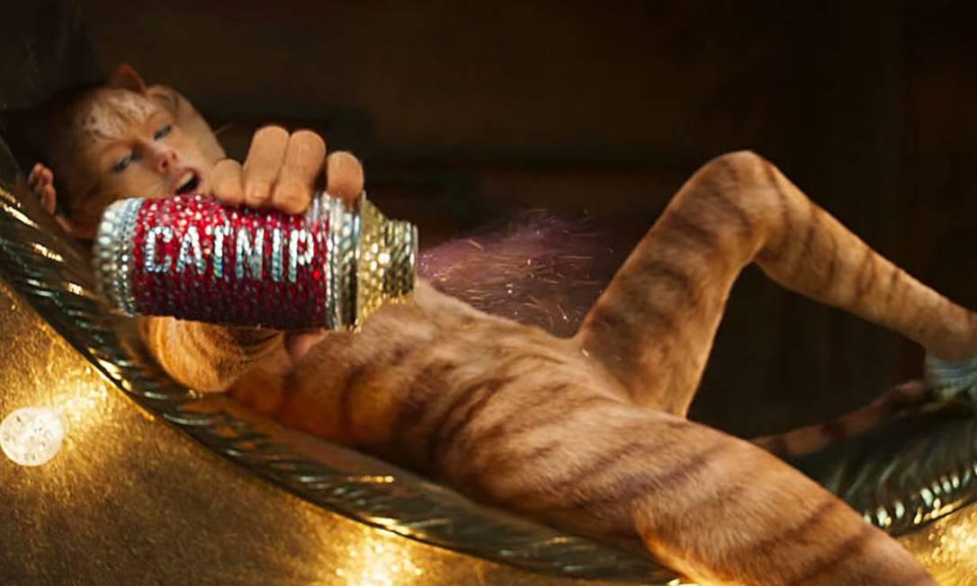 Taylor Swift em 'Cats' Foto: Divulgação