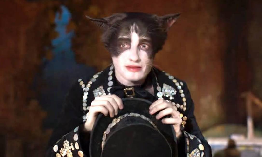 'Cats': Laurie Davidson é Mr. Mistofelis Foto: Divulgação