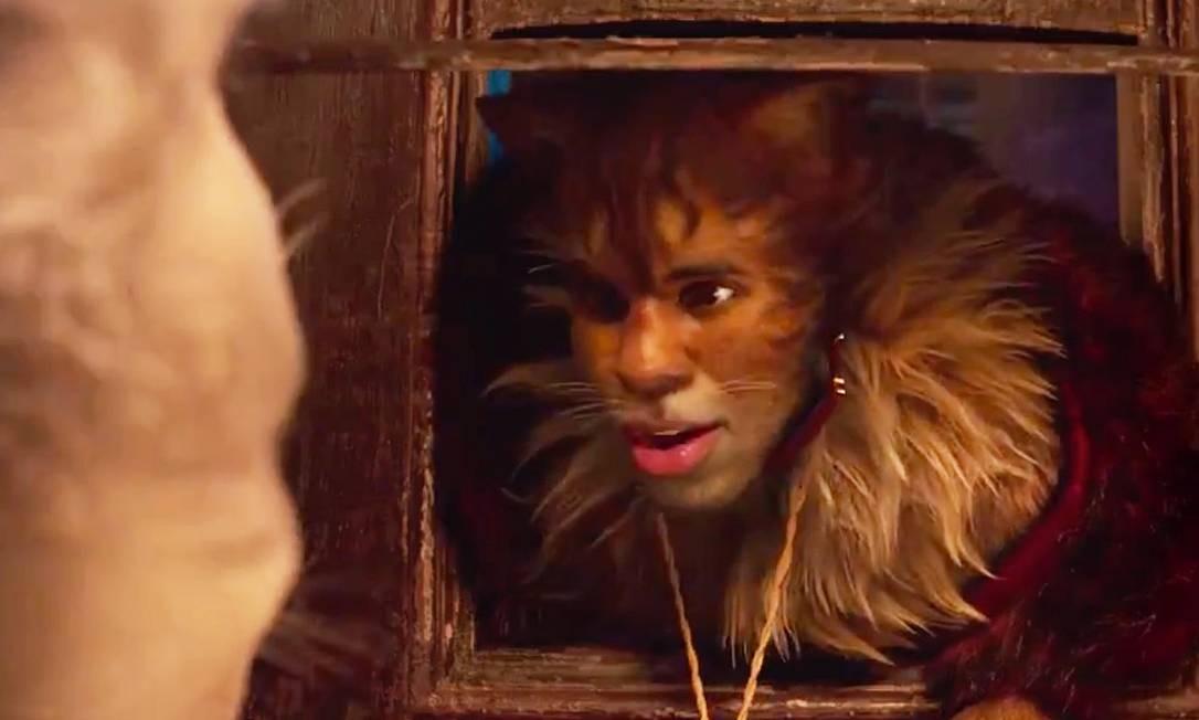 'Cats': Jason Derulo é Rum Tum Tugger Foto: Divulgação