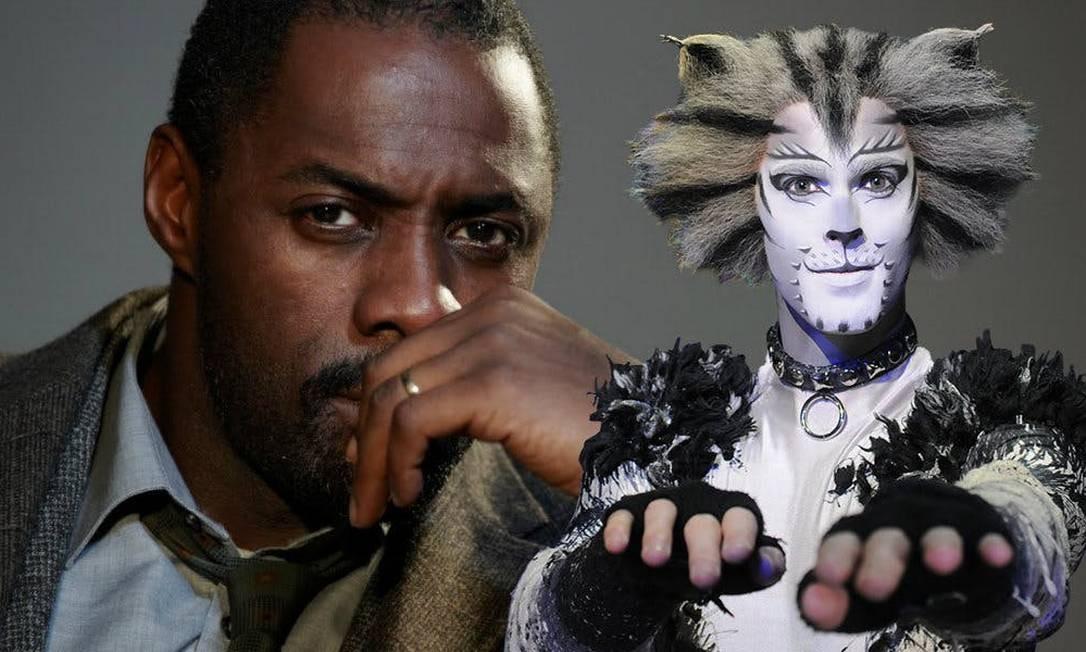 'Cats': Idris-Elba é Macavity Foto: Divulgação