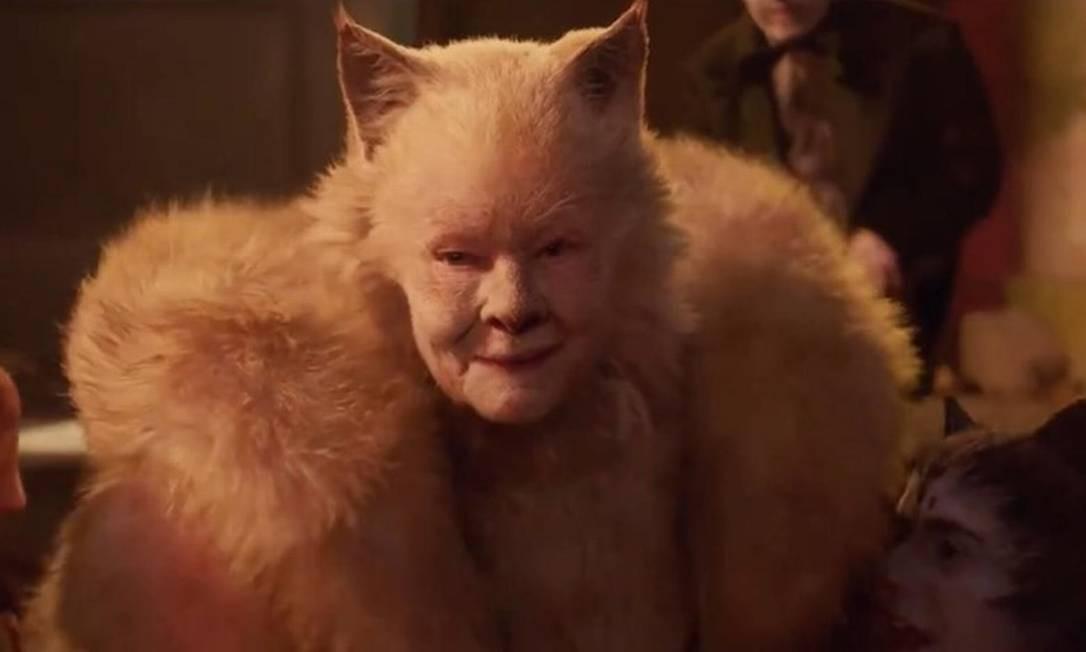 'Cats': Judi Dench é Old Deuteronomy Foto: Divulgação