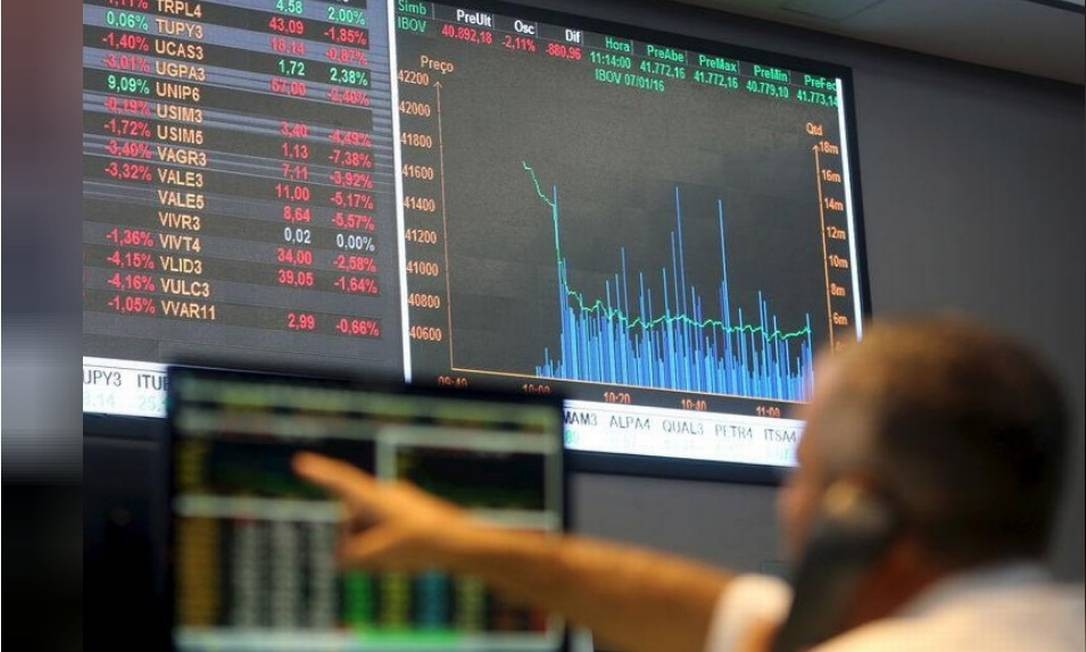 Pregão da Bolsa de Valores B3 Foto: Reuters