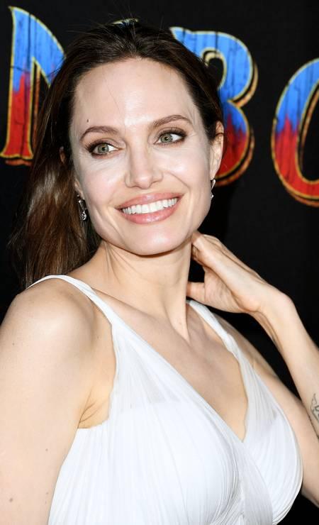 3ª posição: Angelina Jolie. Atriz americana e ativista humanitária Foto: Steve Granitz / WireImage