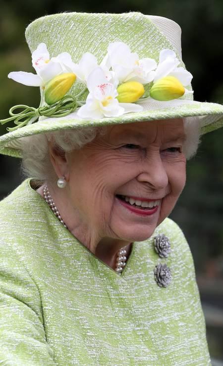 4ª posição: Elizabeth II. Rainha do Reino Unido Foto: POOL / REUTERS