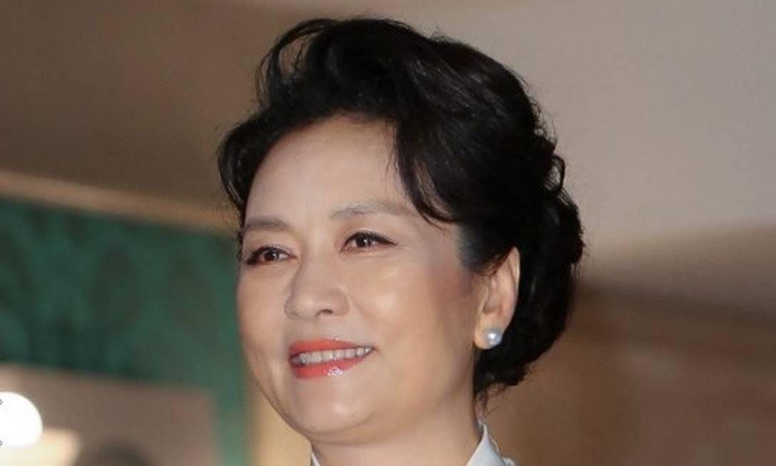7ª posição: Peng Liyuan. A atual primeira dama da China é também reconhecida pelo seu trabalho como cantora Foto: Getty
