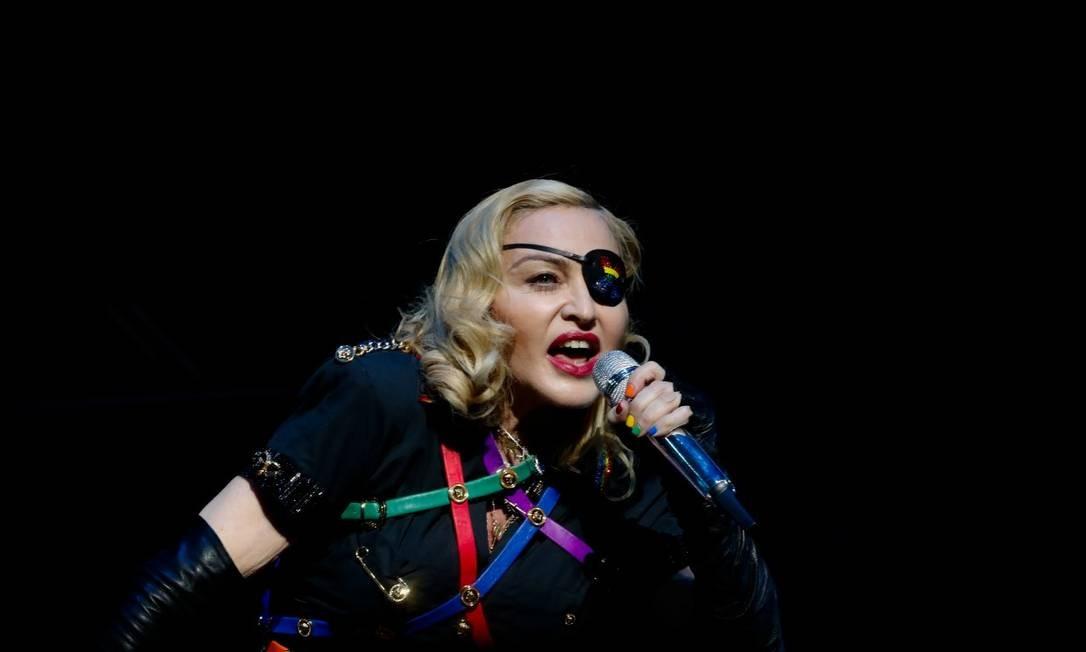 11ª posição: Madonna. A cantora e compositora americana é considerada a rainha do pop Foto: JEENAH MOON / REUTERS