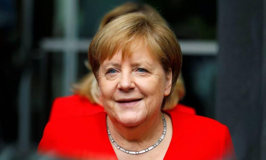 12ª posição: Angela Merkel. Física e chanceler da Alemanha desde 2005 Foto: HANNIBAL HANSCHKE / REUTERS