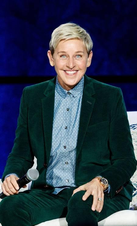 15ª posição: Ellen DeGeneres. Comediante, apresentadora e atriz americana Foto: Andrew Chin / Getty Images