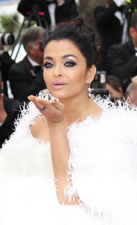 16ª posição: Aishwarya Rai. Atriz, dançarina, cantora e modelo indiana Foto: Mike Marsland / Mike Marsland/WireImage