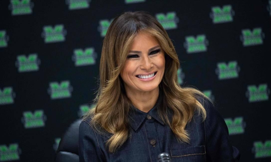 19ª posição: Melania Trump. Atual primeira dama dos Estados Unidos Foto: SAUL LOEB / AFP