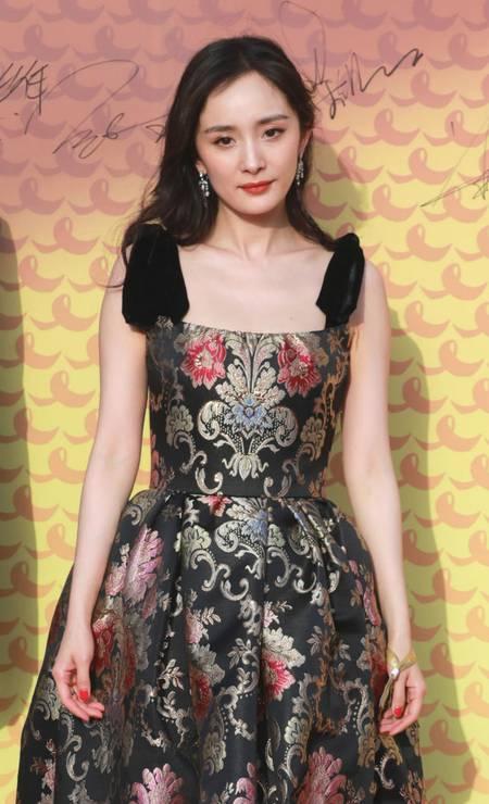 20ª posição: Yang Mi. Atriz e cantora chinesa Foto: VCG / VCG via Getty Images