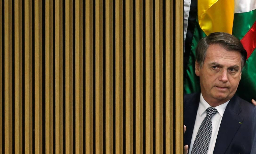 Presidente Jair Bolsonaro participa de Cerimônia do Dia Nacional do Futebol, em Brasília Foto: ADRIANO MACHADO 19-07-2019 / REUTERS