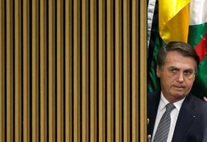O presidente afirmou que pretende impor um 'filtro' cultural para filmes produzidos com dinheiro público Foto: ADRIANO MACHADO 19-07-2019 / REUTERS