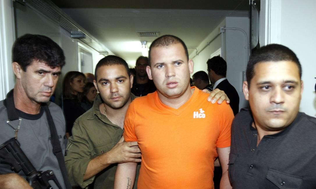 Luiz Henrique Ferreira Romão, o Macarrão, braço-direito de Bruno, foi acusado, condenado e, em 2018, deixou a prisão após cumprir parte da pena Foto: Luis Alvarenga / Agência O Globo