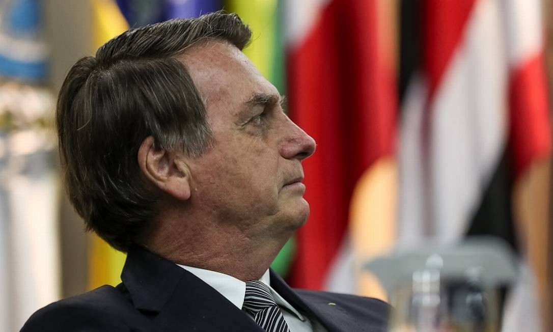 """Bolsonaro: """"Estamos fazendo o possível para atender os caminhoneiros"""". Foto: Agência O Globo"""