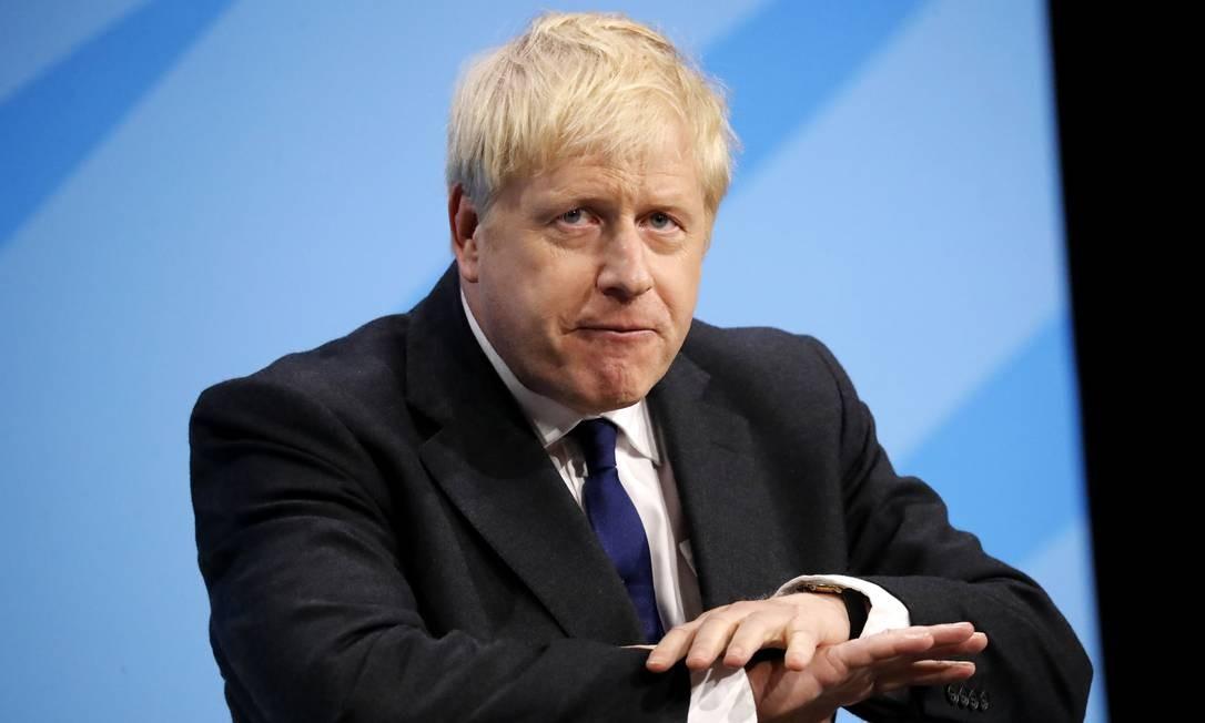 Johnson prometeu tirar o Reino Unido da União Europeia antes de outubro, mesmo sem acordo; correligionários contestam Foto: TOLGA AKMEN / AFP