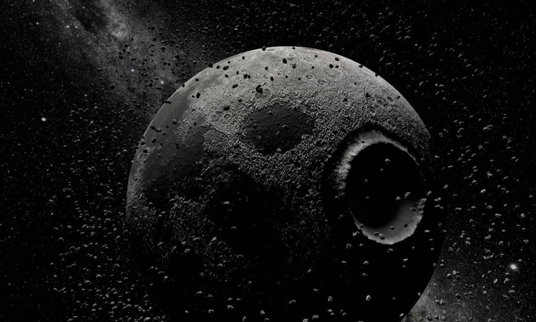 """Imagem de """"To the moon"""" (2018), instalação em realidade virtual de Laurie Anderson e Hsin-Chien Huang Foto: Divulgação"""