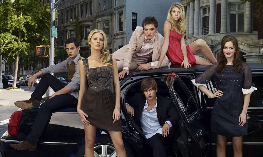 O elenco original de 'Gossip Girl' Foto: Divulgação