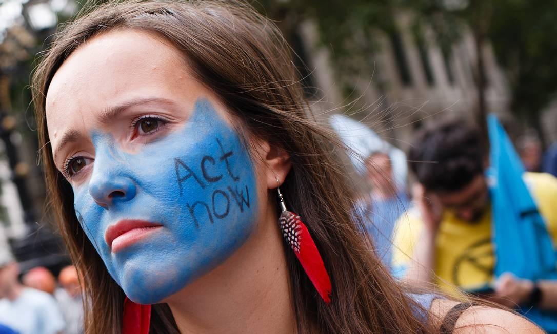 Protesto em Londres (15/07/2019) Foto: Getty Images