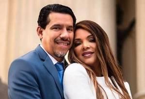 O pastor Anderson e a deputada Flordelis Foto: Reprodução