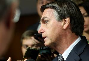 O presidente disse que o fim da multa teria que passar pelo parlamento Foto: Marcos Corrêa / Agência O Globo