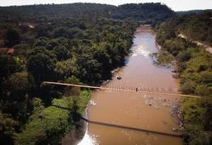 Na foto, o Rio Paraopeba, em Brumadinho Foto: Pablo Jacob 16-07-2019 / Agência O Globo