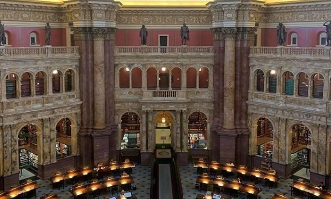 Em viagem aos EUA, família Moro visitou Biblioteca do Congresso americano Foto: Reprodução/Instagram