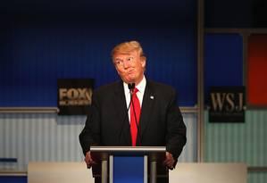Donald Trump, em 2015 Foto: Scott Olson / Getty Images