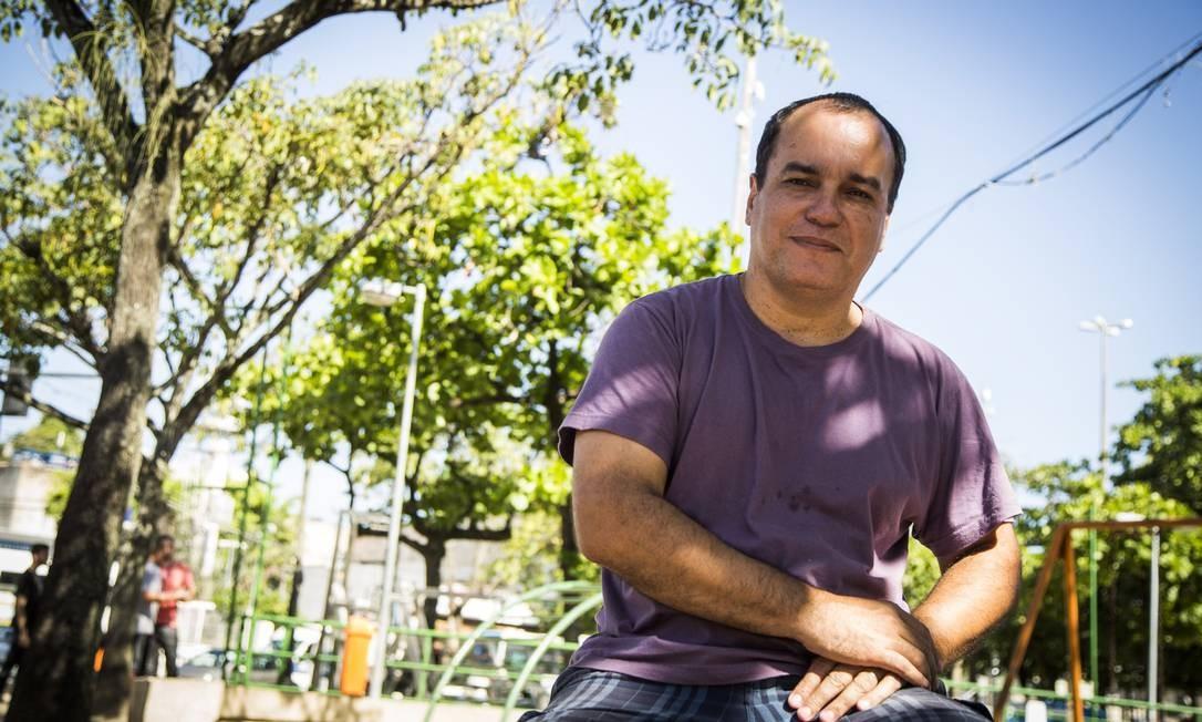 Ecio Salles, cocriador da Festa Literária das Periferias, em 2016 Foto: Bárbara Lopes / Agência O Globo