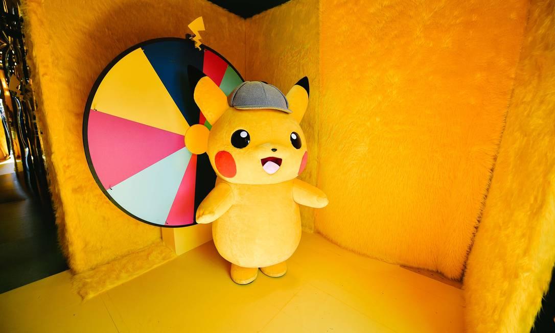 Pikachu: parceria de peso para os Pokémons na China. Foto: Matt Winkelmeyer / AFP
