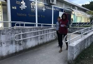 A Clínica de Saúde da Família Isabela Severo da Silva, em Campo Grande, perdeu quatro dos seus seis médicos Foto: Flávia Junqueira