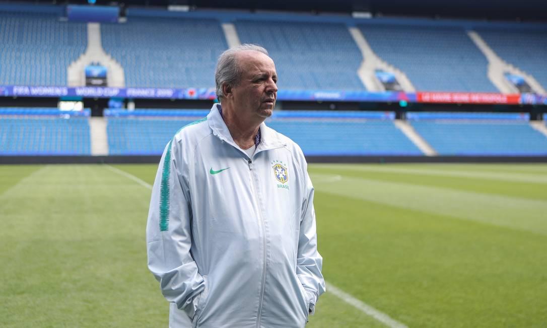 Vadão foi demitido após a eliminação na Copa da França Foto: Assessoria/CBF