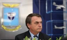 Presidente da República, Jair Bolsonaro participa de almoço com os Oficiais-Generais da Aeronáutica Foto: Marcos Corrêa/PR