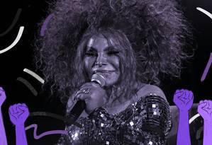 A cantora Elza Soares chega a divulgar, em uma das músicas de seu álbul