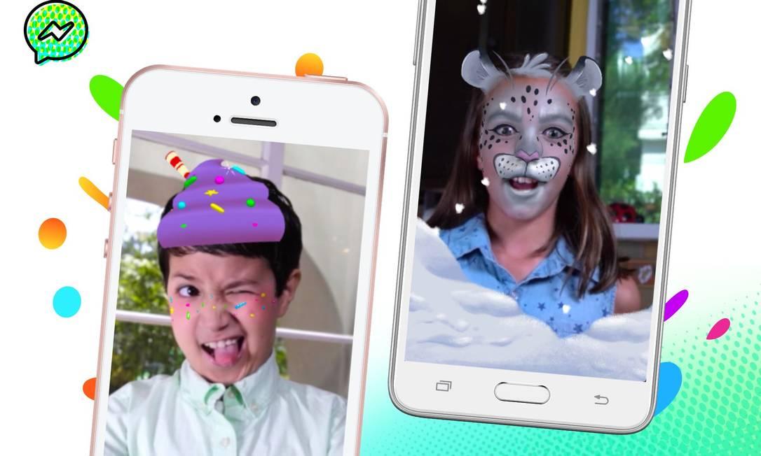 O Messenger Kids permite que crianças conversem com contatos aprovados pelos pais Foto: Divulgação
